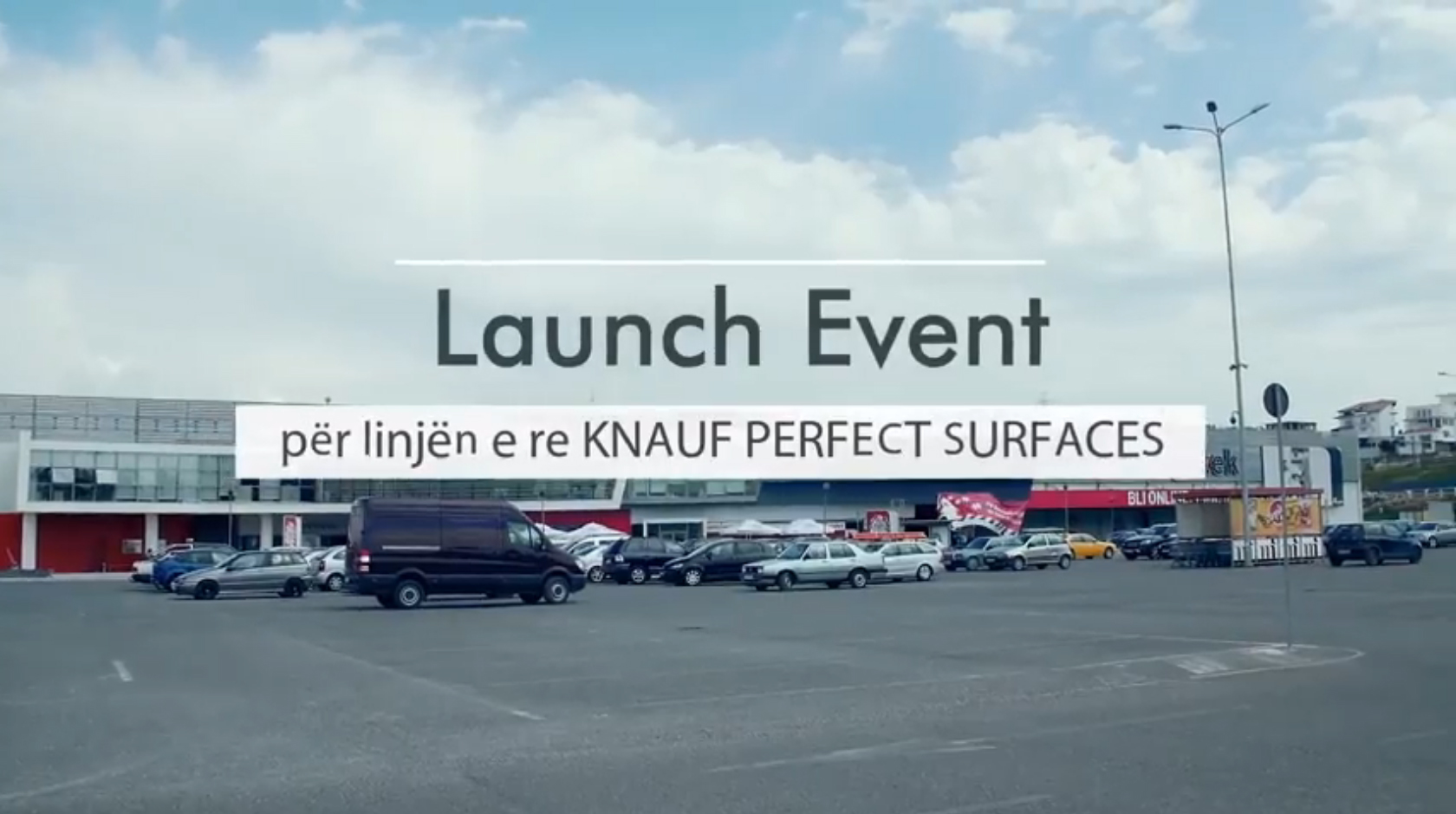 Eventi i lancimit te Knauf Perfect Surfaces